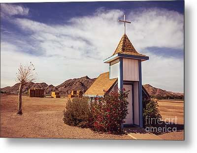 Stop Rest Worship Metal Print by Robert Bales