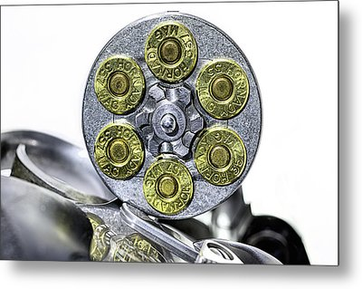 Metal Print featuring the photograph Stopping Power by JC Findley