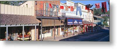Store Fronts, Angels Camp, California Metal Print