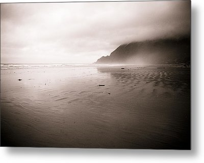 Metal Print featuring the photograph Storm Beach by Craig Perry-Ollila
