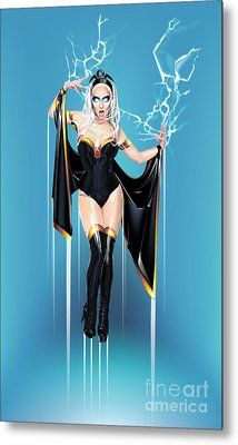 Metal Print featuring the digital art Storm by Brian Gibbs
