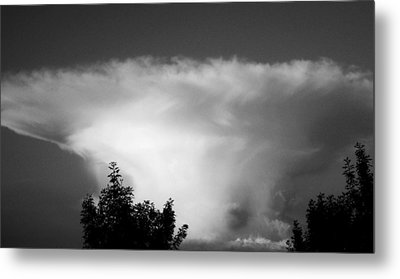 Storm Cloud Metal Print by Juergen Weiss