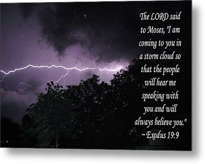 Metal Print featuring the photograph Storm Cloud by Robyn Stacey