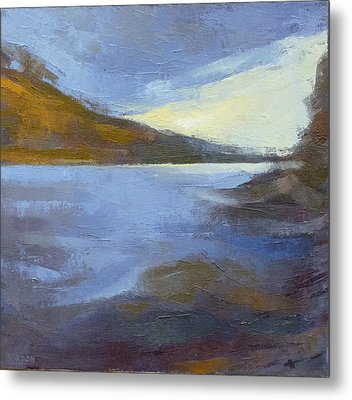 Storm Clouds Break Over The River Gorge Metal Print