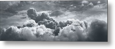 Storm Clouds Over Sheboygan Metal Print