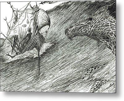 Storm Creator Atlantic Metal Print