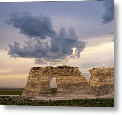 Metal Print featuring the photograph Storm Dragon by Rob Graham