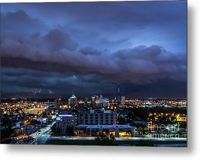 Storm Front Metal Print by Andrea Silies