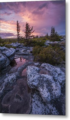 Storm Light Metal Print by Joseph Rossbach