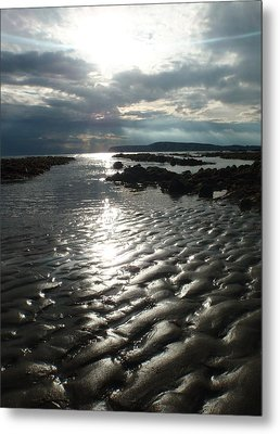 Storm Light Metal Print