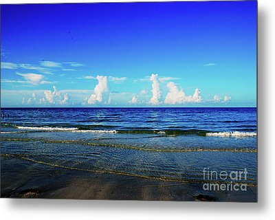 Metal Print featuring the photograph Storm On The Horizon by Gary Wonning
