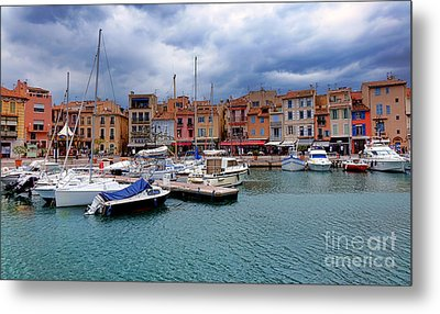 Storm Over Cassis Metal Print by Olivier Le Queinec
