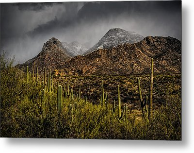 Storm Over Catalinas 15 Metal Print by Mark Myhaver