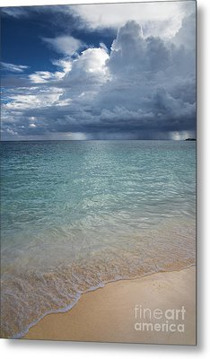 Metal Print featuring the photograph Storm Over The Caribbean Sea by Yuri Santin