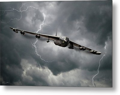 Storm Warning Metal Print by Peter Chilelli