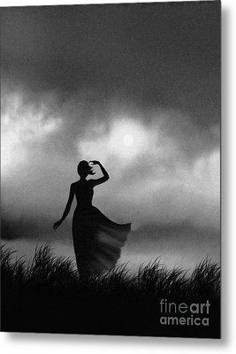 Storm Watcher Metal Print by Robert Foster