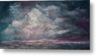 Storm's Approaching Metal Print
