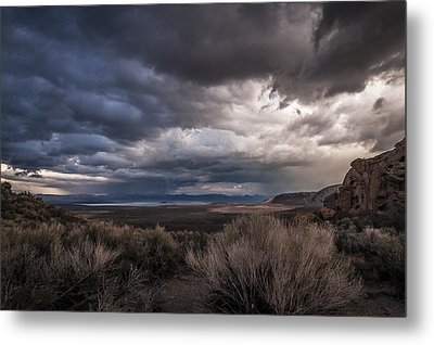 Stormy Day Metal Print by Cat Connor