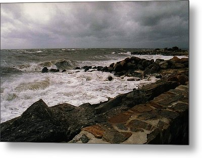Stormy Day Metal Print by John Scates