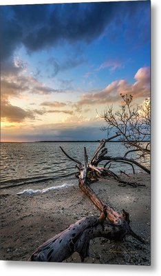 Stormy Sunset Metal Print by Marvin Spates