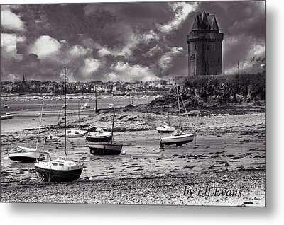 Metal Print featuring the photograph Stormy Weather by Elf Evans