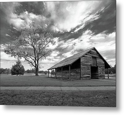 Metal Print featuring the photograph Stormy Weather by George Randy Bass