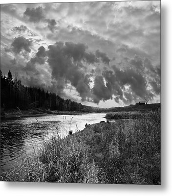 Metal Print featuring the photograph Stormy Weather by Vladimir Kholostykh