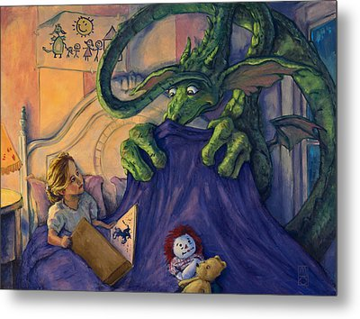 Story Time Metal Print by Michael Orwick