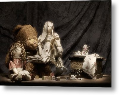 Story Time Metal Print by Tom Mc Nemar