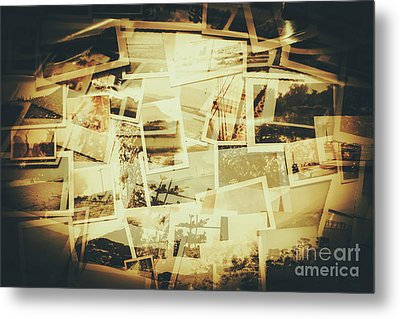 Storyboard Of Past Memories Metal Print
