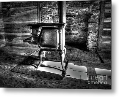 Metal Print featuring the photograph Stove by Douglas Stucky