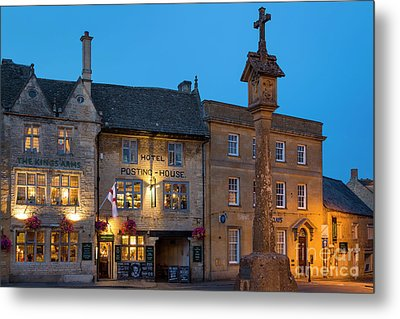 Metal Print featuring the photograph Stow On The Wold - Twilight by Brian Jannsen