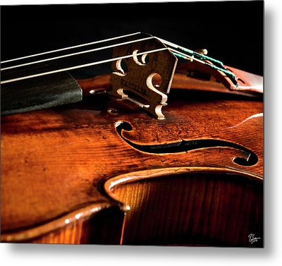 Metal Print featuring the photograph Stradivarius by Endre Balogh