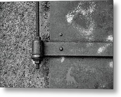 Metal Print featuring the photograph Straight Metal by Karol Livote