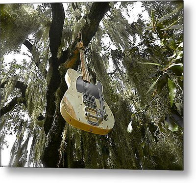 Strange Fruit Metal Print