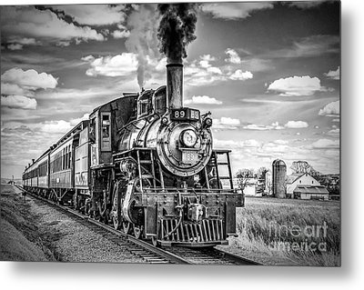 Metal Print featuring the photograph Strasburg Canadian National 89 by Nick Zelinsky