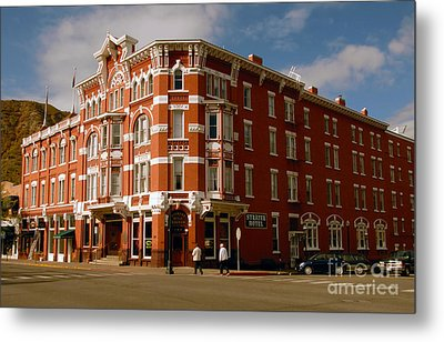 Strater Hotel 1887 Metal Print by David Lee Thompson