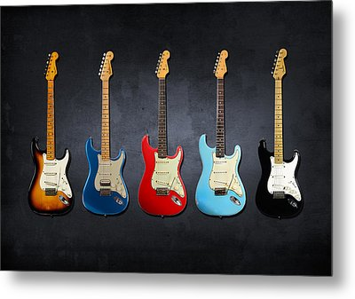 Stratocaster Metal Print by Mark Rogan