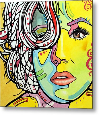 Strawberry Blonde Metal Print by Dean Russo