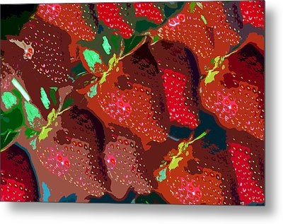 Strawberry Fields Forever Metal Print by David Lee Thompson