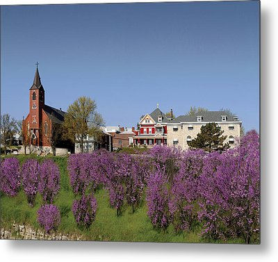 Strawberry Hill Metal Print
