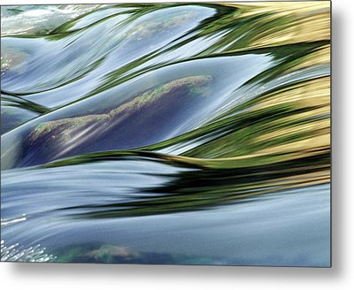 Stream 3 Metal Print by Dubi Roman