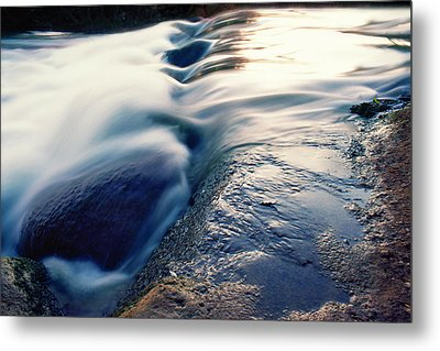 Metal Print featuring the photograph Stream 4 by Dubi Roman