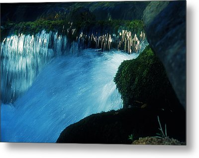 Metal Print featuring the photograph Stream 6 by Dubi Roman