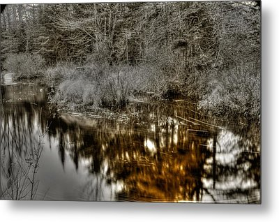 Metal Print featuring the photograph Stream IIi by Greg DeBeck