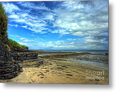 Streedagh Beach Metal Print by Kim Shatwell-Irishphotographer