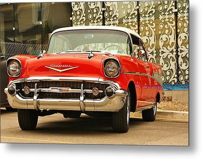 Metal Print featuring the photograph Street Classic by Al Fritz