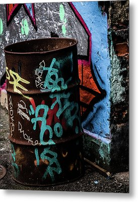 Metal Print featuring the photograph Street Gallery by Odd Jeppesen