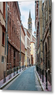 Metal Print featuring the photograph Street In Toulouse by Elena Elisseeva