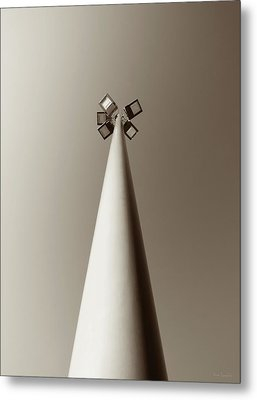 Street Light Metal Print by Wim Lanclus